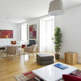 דירה נהדרת ל 6 איש במרכז ליסבון